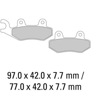 Ferodo Brake Disc Pad Set – FDB497 SG