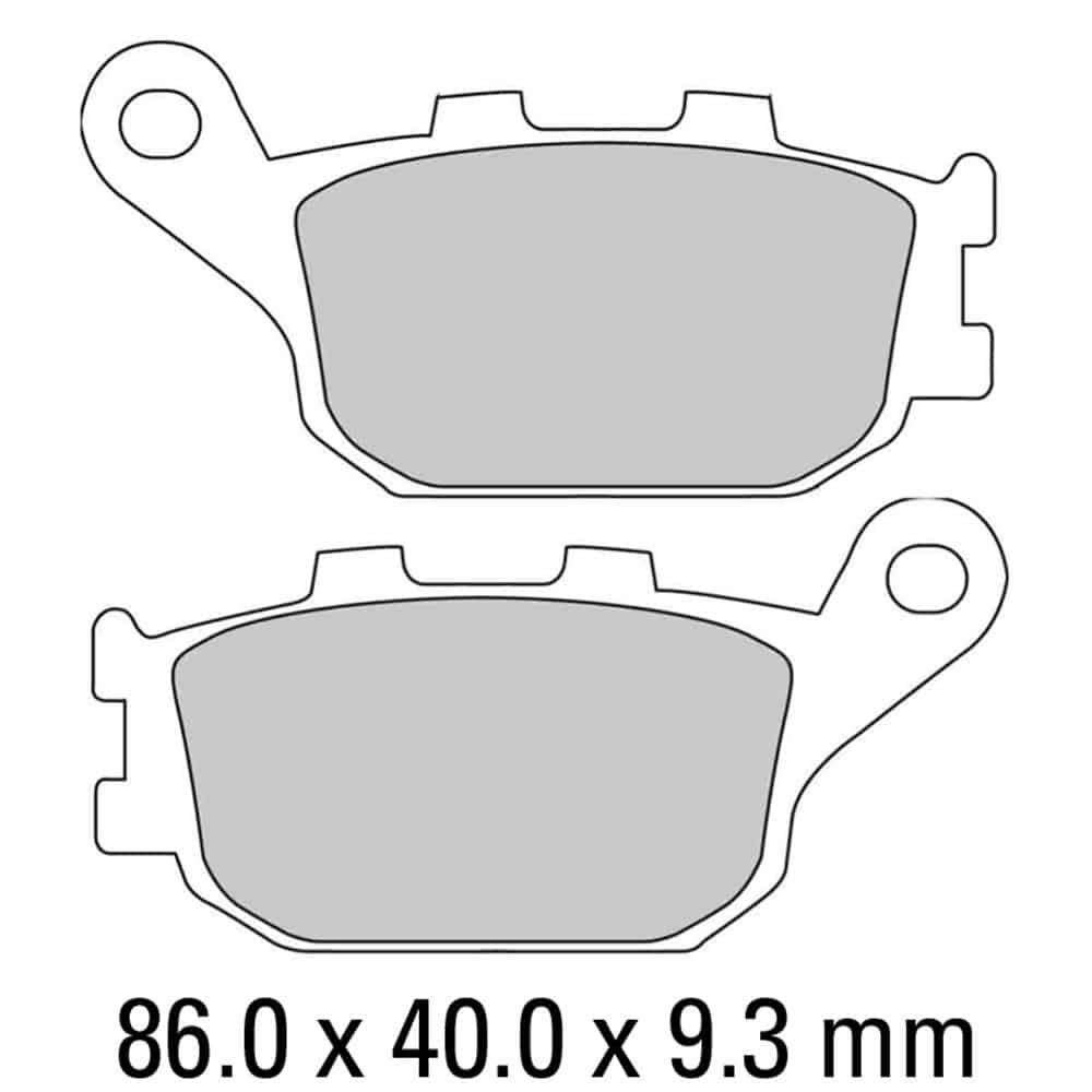 Ferodo Brake Disc Pad Set – FDB754 ST
