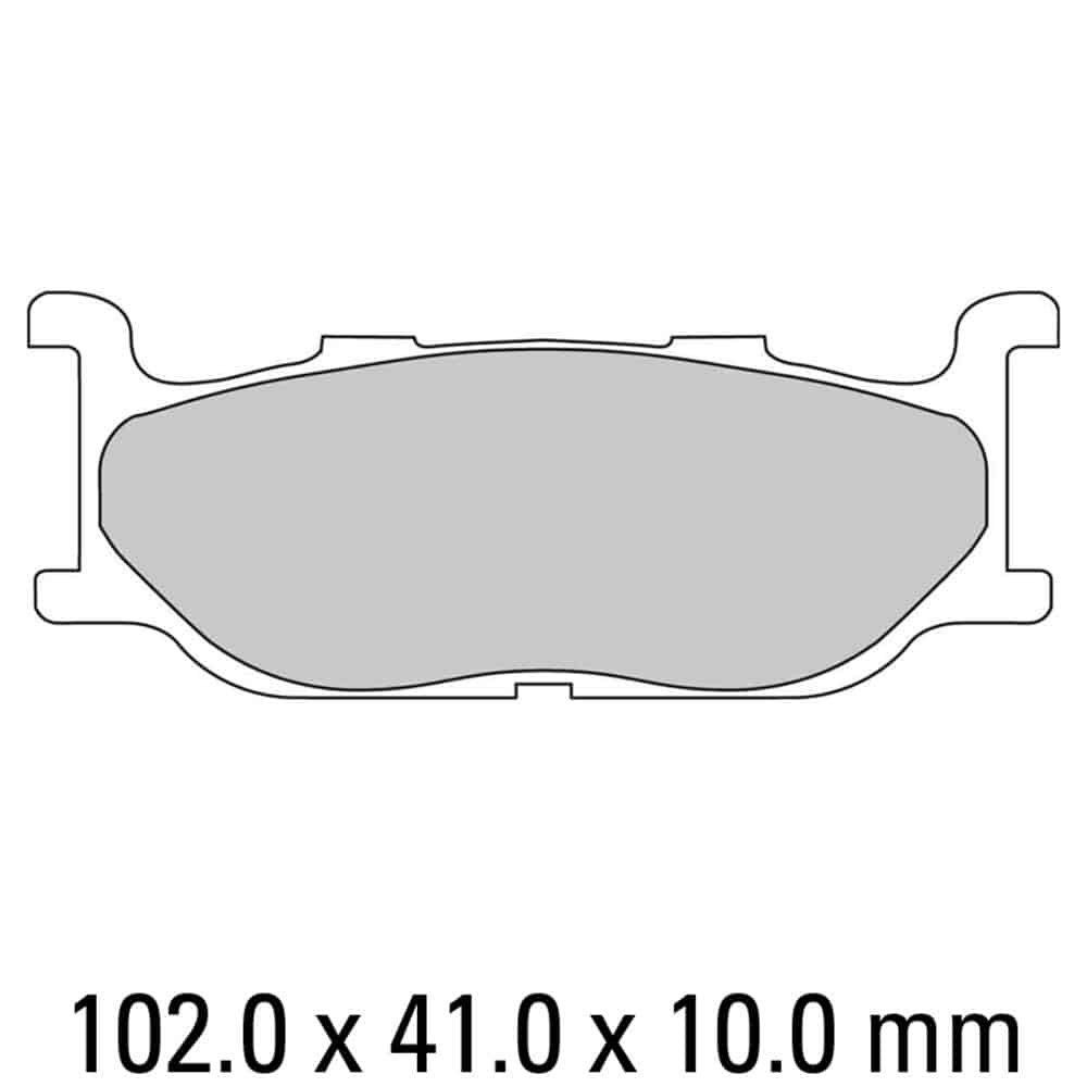 Ferodo Brake Disc Pad Set – FDB781 P Platinum Compound
