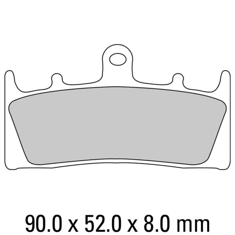 Ferodo Brake Disc Pad Set – FDB873 ST