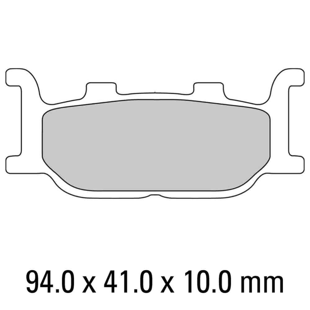 Ferodo Brake Disc Pad Set – FDB2003 ST