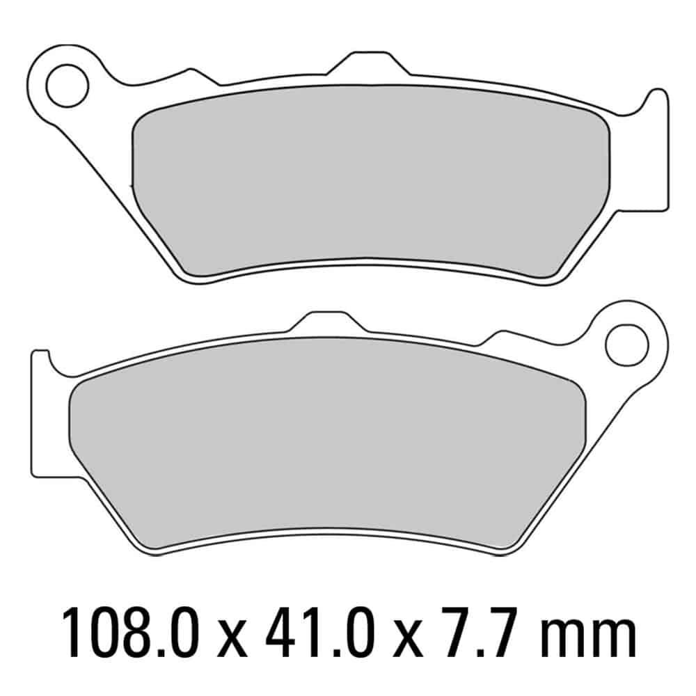 Ferodo Brake Disc Pad Set – FDB2006 P Platinum Compound