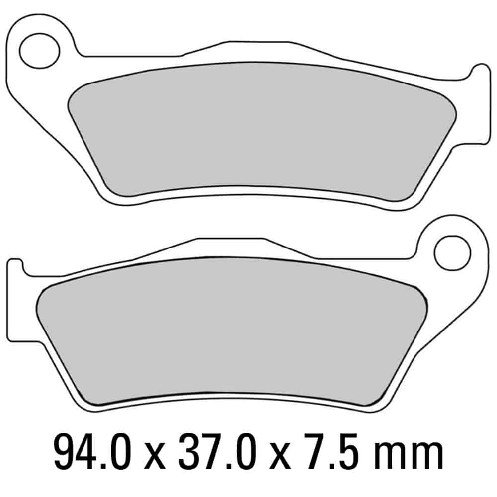 Ferodo Brake Disc Pad Set – FDB2018 SG Sinter Grip SG Compound