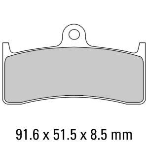 Ferodo Brake Disc Pad Set – FDB2036 ST