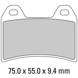 Ferodo Brake Disc Pad Set – FDB2042 ST