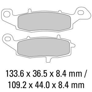 Ferodo Brake Disc Pad Set – FDB2048 P Platinum Compound