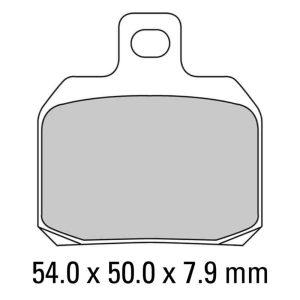 Ferodo Brake Disc Pad Set – FDB2074 P Platinum Compound