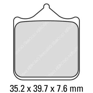 Ferodo Brake Disc Pad Set – FDB2120 ST
