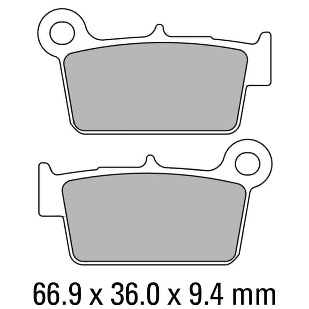 Ferodo Brake Disc Pad Set – FDB2162 SG