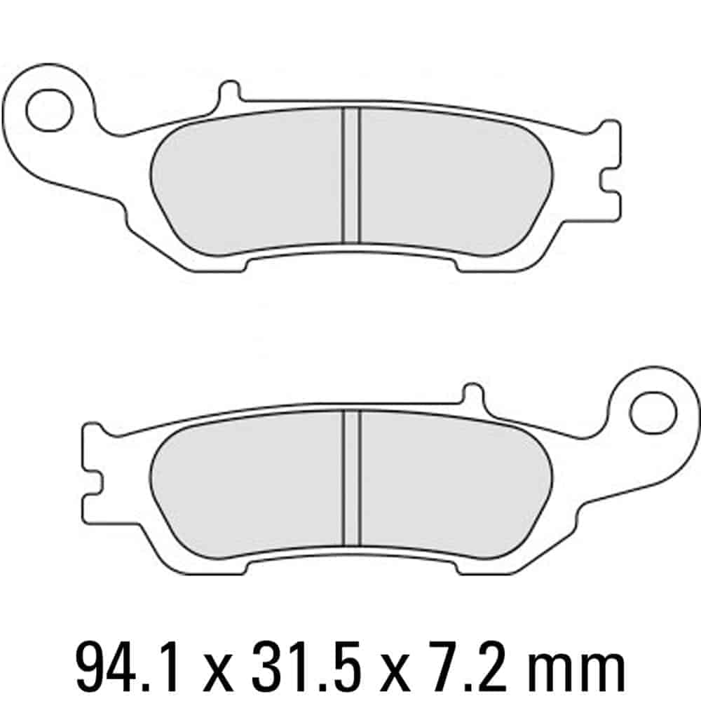 Ferodo Brake Disc Pad Set – FDB2219 SG