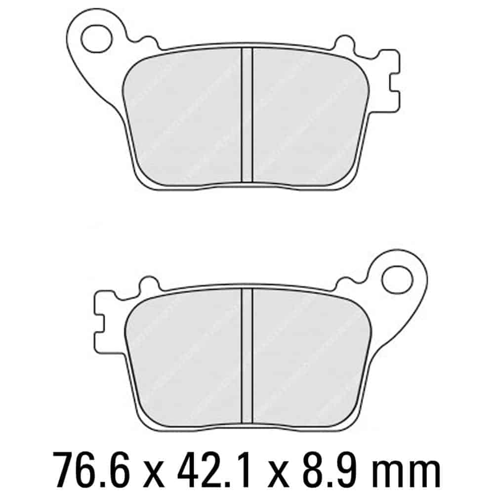 Ferodo Brake Disc Pad Set – FDB2221 P