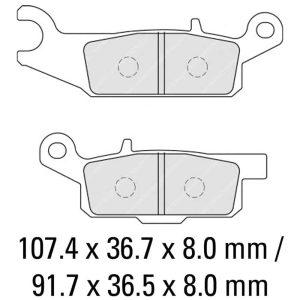 Ferodo Brake Disc Pad Set – FDB2230 SG