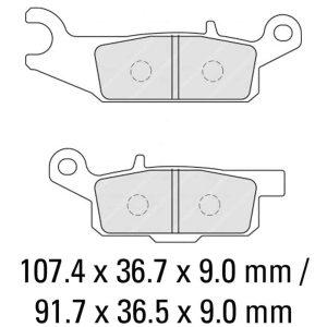 Ferodo Brake Disc Pad Set – FDB2232 SG