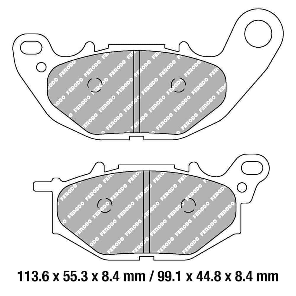 Ferodo Brake Disc Pad Set – FDB2280 ST