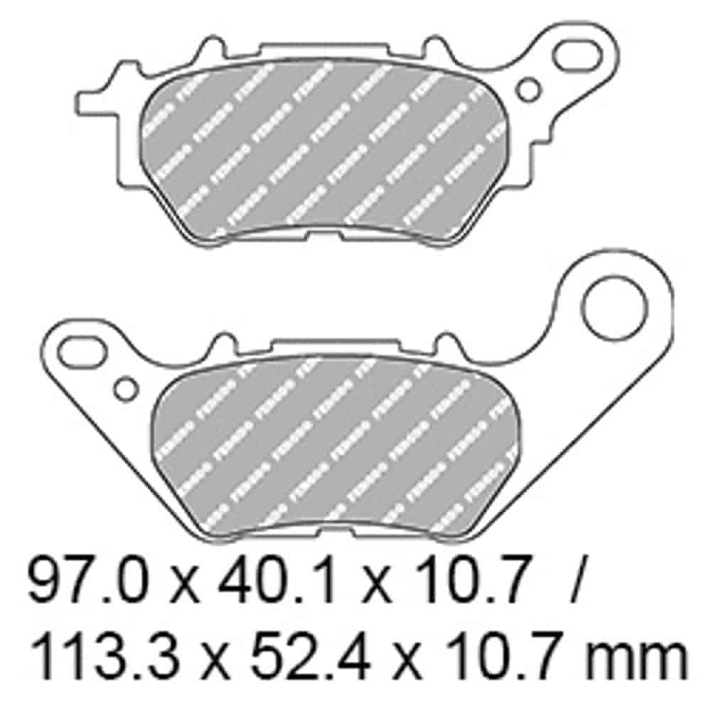 Ferodo Brake Disc Pad Set – FDB2283 EF