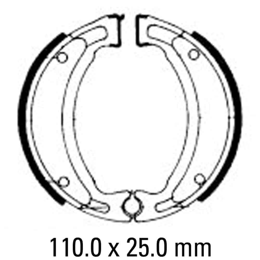 Ferodo ECO Brake Shoe Set – FSB731 EF