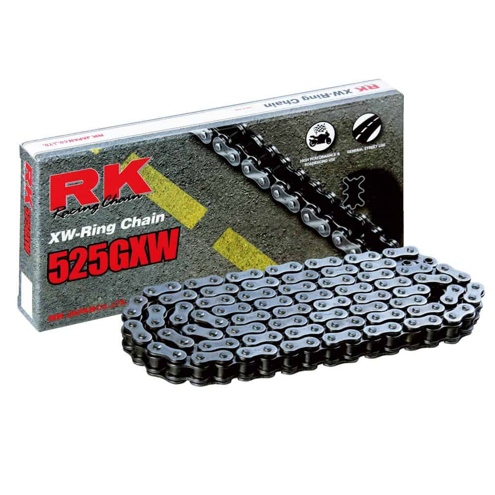 RK Chain 525GXW – Natural 112 Link