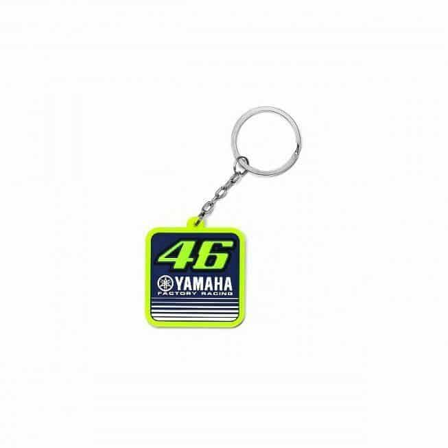 Yamaha 2017 MotoGP VR46 Rubber Keyring