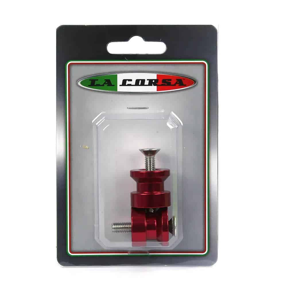La Corsa Rear Stand Pick Up Knobs – 6mm Red