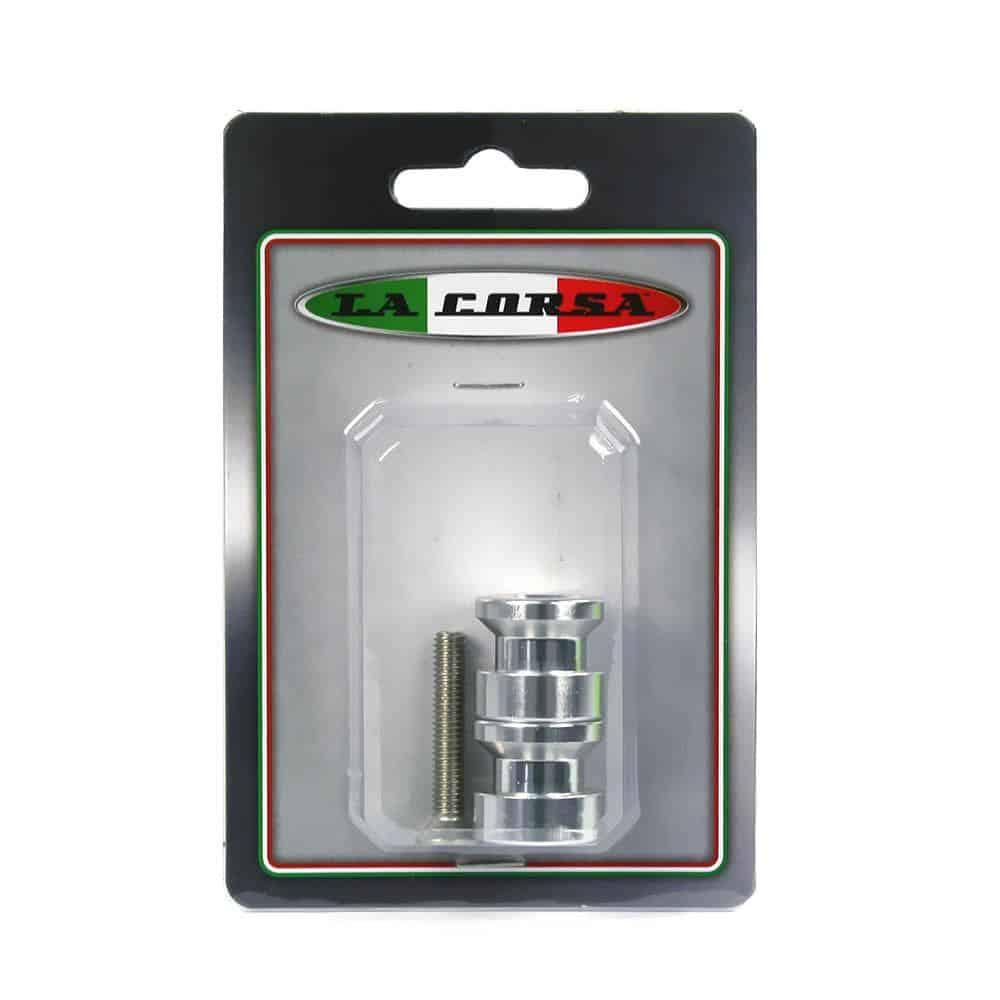 La Corsa Rear Stand Pick Up Knobs – 6mm Silver