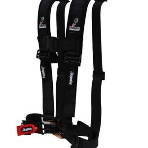 Dragonfire H-Style 4 Point Harness 2″