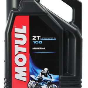 Motul 100 Moto Mix 2 Stroke Oil 4 Litre