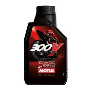 Motul 300V Factory Line Road Racing 15W50 – 1 Litre