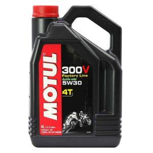 Motul 300V Factory Line Road Racing 5W30 – 4 Litre
