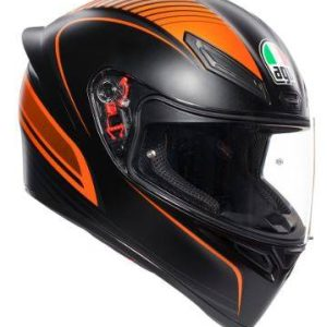 AGV K-1 – Warm Up Black / Orange Helmet