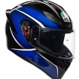 AGV K-1 – Qualify Black / Blue Helmet