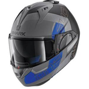 Shark Evo-One 2 Helmet – Anthracite / Black / Blue
