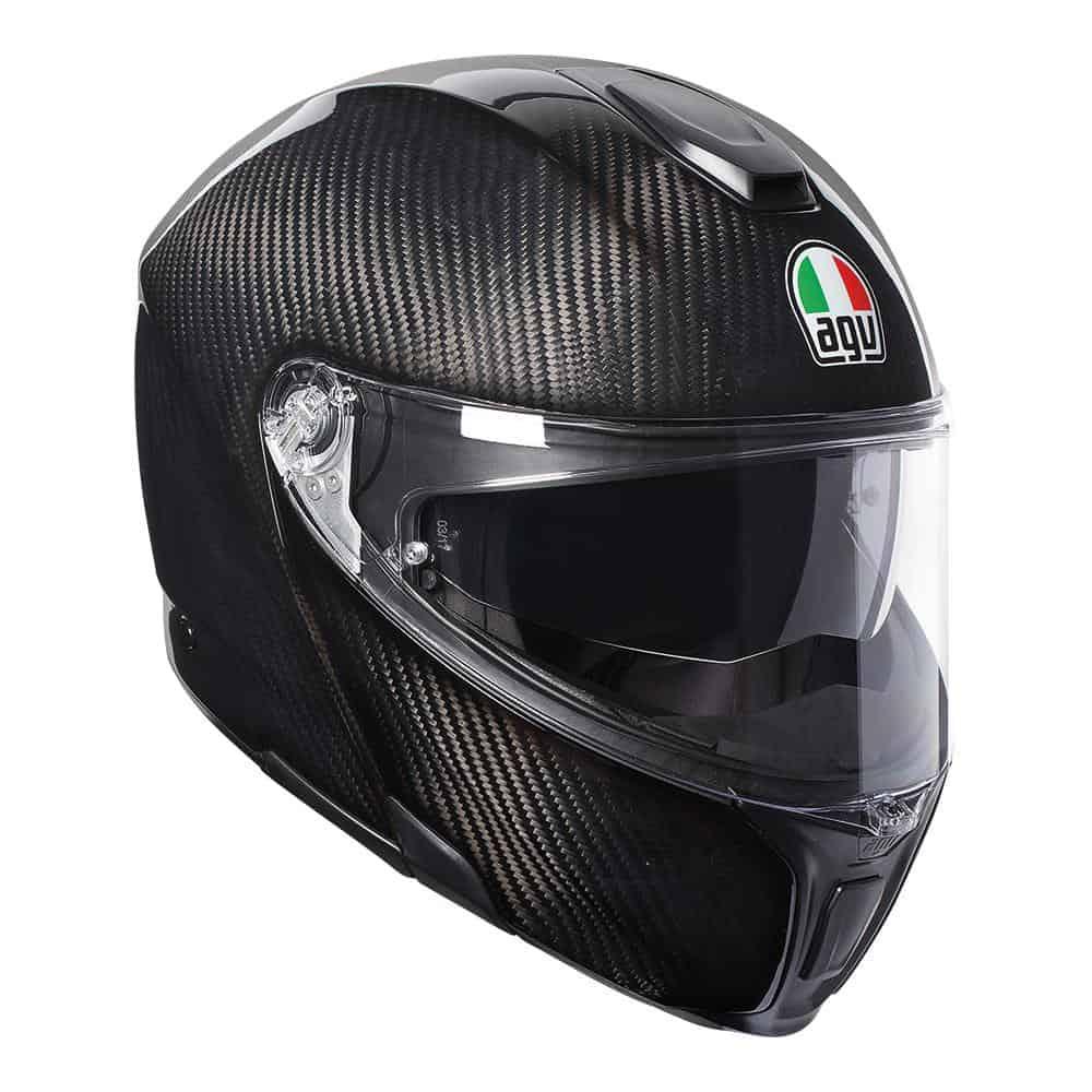 AGV Sport Modular – Glossy Carbon Helmet