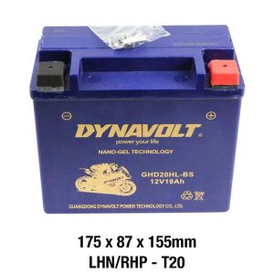 Dynavolt GHD20HL-BS Battery 12 Volt Nano-Gel Series