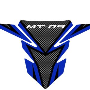 Yamaha MT-09 Tank Pad – Carbon / Blue