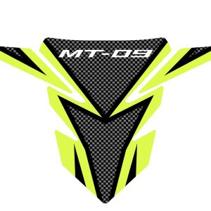 Yamaha MT-09 Tank Pad – Carbon / Fluro