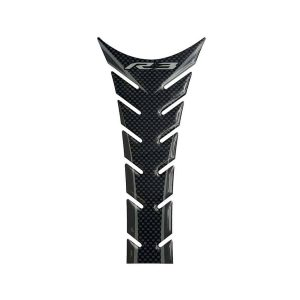 Yamaha YZF-R3 Tank Pad – Carbon / Grey