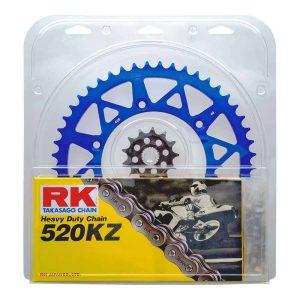 RK Chain & Sprocket Kit – Blue – 13/50