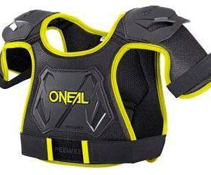 Oneal PeeWee Chest Protector Black/Hi-Viz