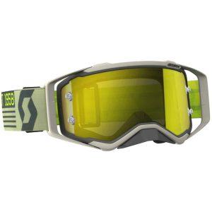 Scott Prospect Grey / Beige / Yellow Chrome Goggles