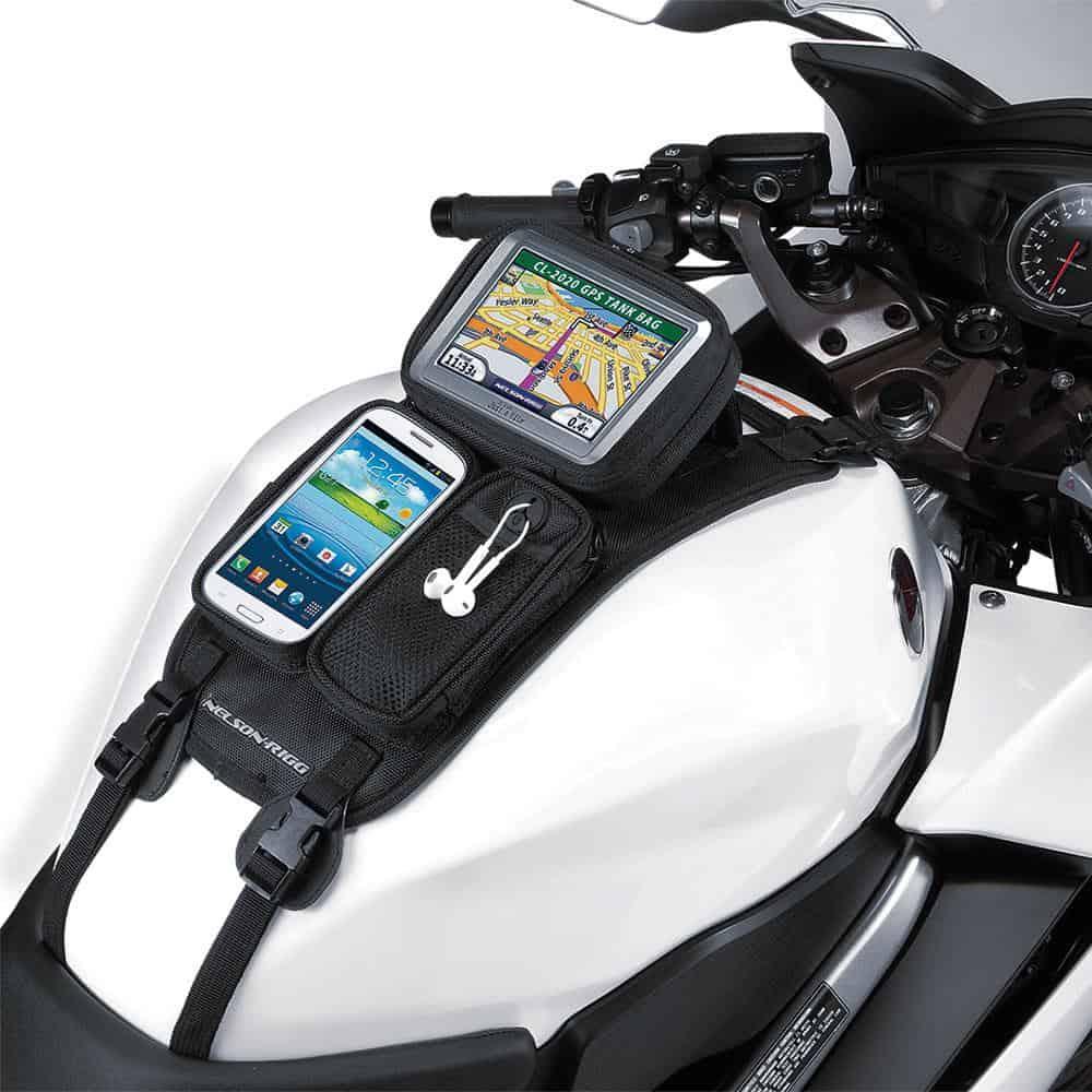 Nelson-Rigg Tankbag CL-GPS Journey GPS Mate – Strap Mount