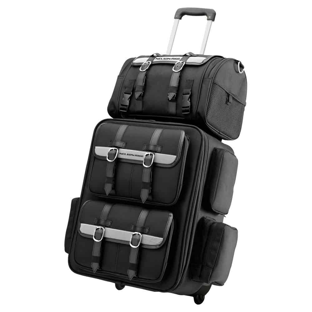 Nelson-Rigg Tailbag CTB1000 King Roller Wheelable Rear Rack Bag 42-52 litre