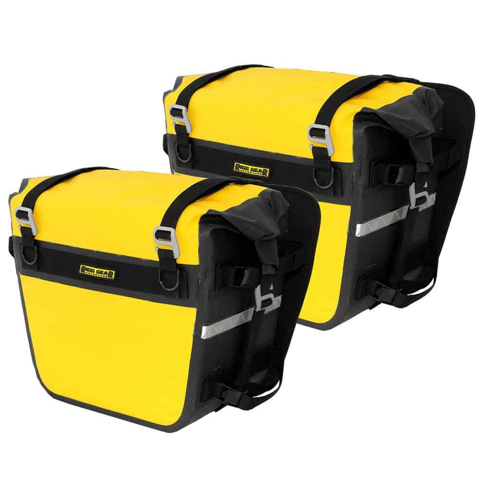 Nelson-Rigg Saddlebags SE-3050 Deluxe Dry 27.5 litre ea – Yellow