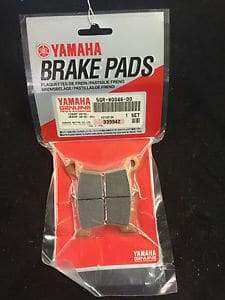 YFZ450 / R Rear Genuine Yamaha Brake Pad Kit
