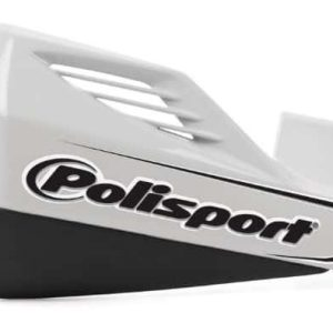 PoliSport MX Rocks Hand Guards – White