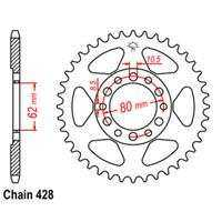 Rear Sprocket – Steel 54T 428P D/D