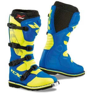TCX X-Blast MX / Enduro Racing Boot – Blue / Yellow