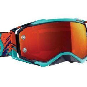 Scott Prospect Blue / Orange Goggles