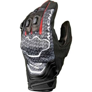 Macna Assault Gloves – Black / Grey / Red