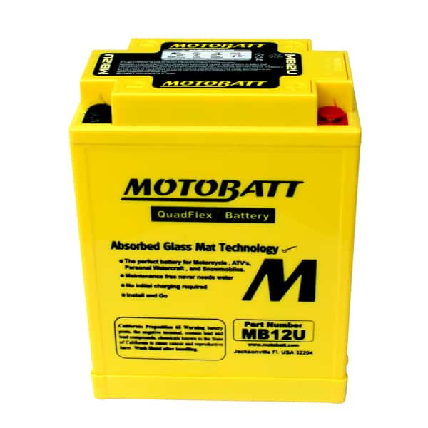 Motobatt MB12U YB12AA Battery