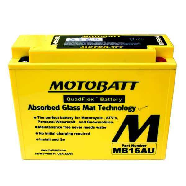 Motobatt MB16AU YB16ALA2 Battery